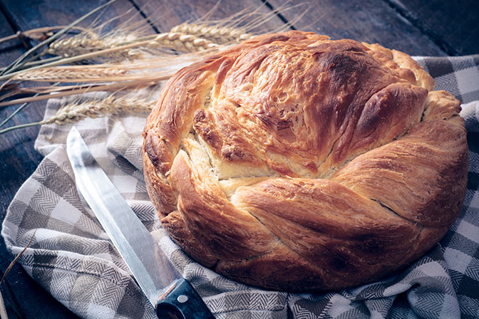 Pogaca Bread