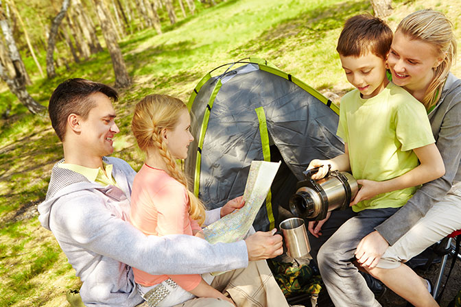 Camping Tips for Keeping Your Site Organized and Clean
