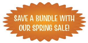 Save a Bundle on Our Spring Sale