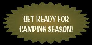 Get Ready for Camping Season Badge