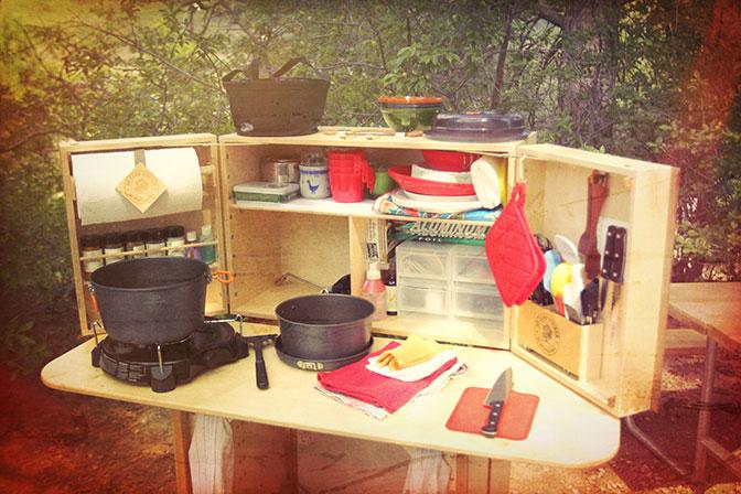 My Camp Kitchen | My Camp Kitchen—When Flimsy Aluminum Isn\'t ...